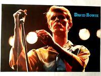 David Bowie 1980's Original Vintage Poster