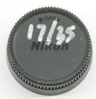 Nikon F Mount - Rear Lens Cap Protector - USED Z587