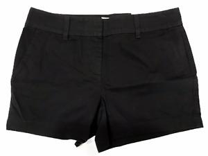 "NWT Ann Taylor LOFT 4"" Shorts Sz 4-16 Black or Red 100% Cotton"