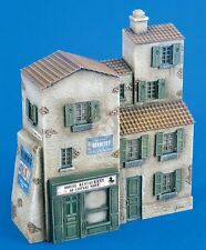Verlinden 1/72 European Village 4-Story House and Store Section [Diorama] 2150