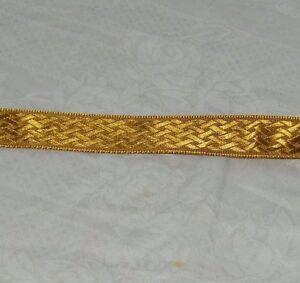 8 1/2 Yards Sienna Textured Satin Ribbon 18710