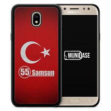 Samsung Galaxy J7 (2017) Hülle Case SILIKON Samsun 55 Motiv Design Türkei Türki