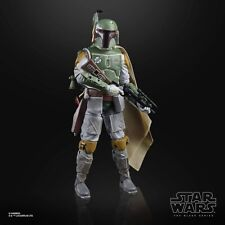 40TH Anniversary 6 Inch Boba Fett Bounty Figure Black Series Star Wars TBS LOOSE