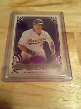 Paul Molitor Brewers 2013 Topps Triple Threads Amethyst  #100   482/650