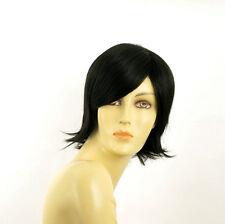 Perruque femme courte brun foncé MARINA 2
