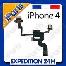 NAPPE BOUTON POWER ON/OFF et CAPTEUR DE PROXIMITE pour IPHONE 4