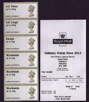 SALISBURY Post & Go MACHIN 6xNVI A3 COLLECTORS STRIP 2013