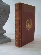 ETUDE MORALE ET LITTÉRAIRE SUR LES ÉPÎTRES D'HORACE : J.A. ESTIENNE - 1851