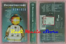 MC RECONSTRUCTION ITALIAN ALTERNATIVE REMIXEX subsonica SIGILLATA cd lp dvd vhs