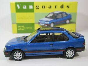 VANGUARDS, 1:43 Scale, PEUGEOT 309 1.9 GTi Mk2 in MIAMI BLUE, VA11603