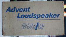 Advent 5012W Single Speaker