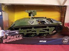 Jada  Ripsaw Tank   NIB 2017  1/24 scale Fast & Furious 8