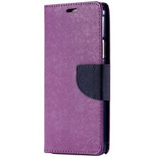 BlackBerry PRIV Deluxe Wallet Leather Flip with TPU Case Cover Stand Canada