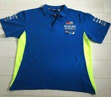 Suzuki Ecstar MotoGP GSX-RR Team Polo Shirt - Genuine  Size XXXL Blue