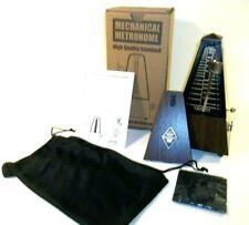 New Gleam Precise Mechanical Metronome Teak Color Guitar Bass Piano High Quality