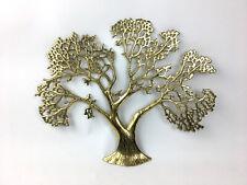 Brass Tree Wall Hanging Sculpture