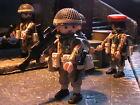 PLAYMOBIL CUSTOM AMETRA. PARA. 2 BAT. REG.SOUTH STAFFORDS (ARNHEM-1944) REF-043