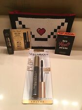 Eye Makeup Set with Benefit Too Faced L'Oréal and Ipsy Bag ~ New! ��