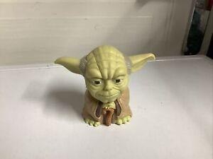 "Star Wars Talking Yoda Figure Tomy 1999 3.5"" Light Up Eyes Episode 1"