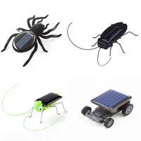 Smallest Solar Power Mini Toy Car/Spider/Cockroach Educational Solar Powered Toy