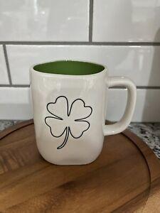 New Rae Dunn St. Patrick's Day Mug Shamrock Mug Green Inside LL Magenta🍀
