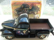 "Ertl "" Elvis "" 1947 Studebaker Pickup Truck ~1/24 Diecast~ Black and Gold ~"