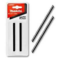 MAKITA D-07917 GENUINE 82mm DOUBLE SIDED TUNGSTEN CARBIDE PLANER BLADES