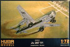 Junkers Ju 287 V1 Langstrecken-Bomber 1:72 Huma Modell 5001 Luftwaffe 2. WK