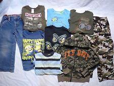 Lot 9 Levi Jeans LS Shirts Hoodie Gymboree Old Navy Camo Blue Pants 5/5T