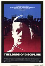 THE LORDS OF DISCIPLINE Movie POSTER 27x40 David Keith Robert Prosky Barbara