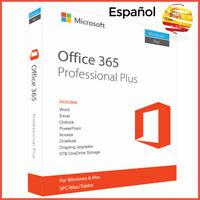 Office 365 Profesional Plus Español 5 - dispositivos 5TB en la nube