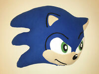 Sonic the Hedgehog movie plush toy pillow new handmade (19.7x15.7 in, 50x40 cm)