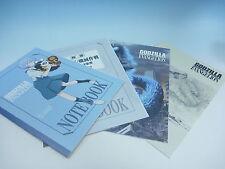 Rare Seven-Eleven Limited Godzilla × Evangelion Notebooks Full Set 4pcs EMS JP