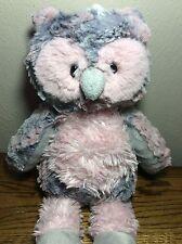 "14"" Marshmallow Zoo Blush Owl Plush Stuffed Animal by Mary Meyer"