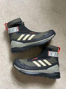 adidas Terrex Free Hiker COLD.RDY 'Grey Savanna' Gore-Tex Men's Size 9.5 FU7222