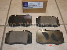 Mercedes W219 CLS-Class Genuine Front Brake Pad Set,Pads CLS500 CLS550 NEW 06-11