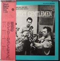 COUNTRY GENTLEMAN / COUNTRY SONGS OLD AND NEW / FOLKWAYS / COLUMBIA JAPAN OBI