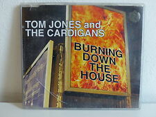 CD Single Promo TOM JONES and the CARDIGANS Burning down the house VVR5010173P