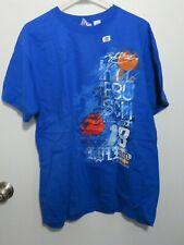 NWT Nascar Kyle Busch #18 M&M Blue T-Shirt Size Large