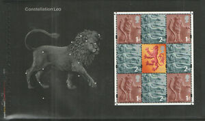 GB 2002 pane EN1l from SG DX29 Across the Universe Prestige Booklet - MNH