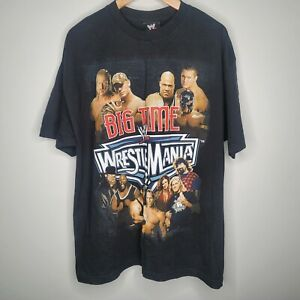 WWE WWF Wrestlemania 22 T Shirt XL Mint Big Time
