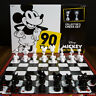 Collector's Edition Mickey Mouse 90th Anniversary Chess Set True Original Gift