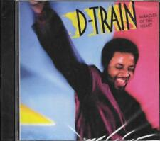 "JAMES 'D-TRAIN' WILLIAMS - MIRACLES OF THE HEART 2011 CD 1986 ALBUM + 12"" MIXES!"