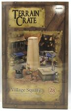 Terrain Crate MGTC130 Village Square (27 Pieces) Fantasy Terrain Town Mantic NIB