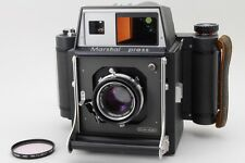 RARE!【NEAR MINT】Mamiya Marshal press 6x9 Medium Format w/105mm, Filter Japan#579