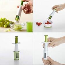Fruit Tomato Grape Peeler Cherry Slicer Cutter Kitchen Utensil Easy Tools Q