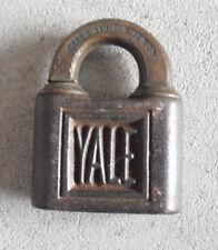 Antique 1901 Marked Yale Metal Padlock