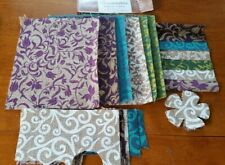 Seaside Aves Azul 100/% algodón de alta calidad de material de tela 3 Tamaños *