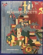 Alighiero Boetti Catalogo della Mostra Parigi 2010 Federico Motta Editore