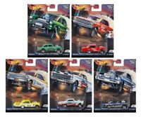 Hot Wheels Car Culture 2018 Drag Strip Demons Set of 5 Cars FPY86-956F